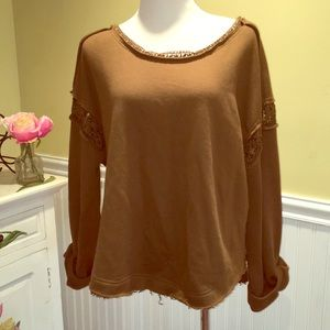 Promesa - chic boutique style fleece top